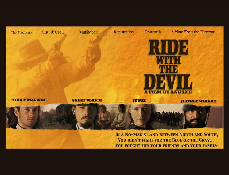 Ride With The Devil Movie Website
